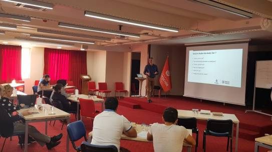 Organized Training for Personnel of Boğaziçi Yönetim A.Ş.