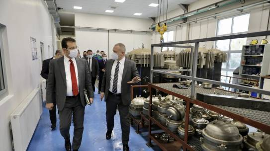 İBB Başkan'ından UGETAM'a Ziyaret