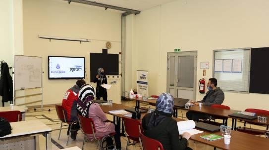 UGETAM Uzman Kadrosuyla Mesleki Eğitimlerini Sürdürüyor